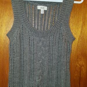 Jacob gray sweater vest sz small